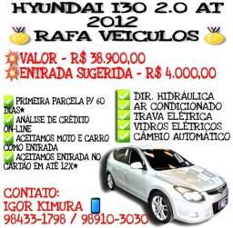 HYUNDAI I30 2.0 145CV 16V AT FLEX 2012, FALAR COM IGOR NA RAFA VEICULOS oki887**