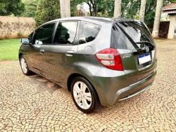 Título do anúncio: Honda Fit Automático EX 2013 Câmbio Borboleta Banco de Couro