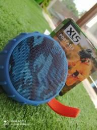 Caixinha de Som XLS Bluetooth Várias Cores Camuflagem Exército   Entrega Garantia Atacado