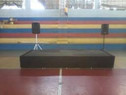 Treliças palco
