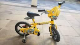Título do anúncio: Bicicleta aro 14 Transformers Bandeirantes