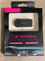Título do anúncio: Adaptador de Bluetooth Para Carro Wireless