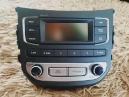 Rádio HB 20 zerado.