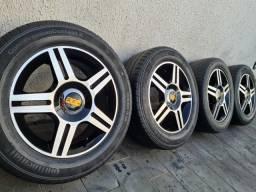 Rodas aro 15 - BBS / Scorro S182 (mod Golf) - 4x100 e 4x108 + pneus 195/60 R15 bons