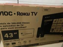 Tv 43 polegadas nova na caixa lacrada com nota fiscal
