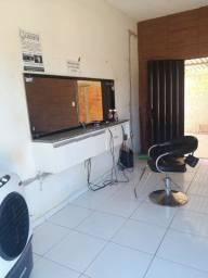 Cadeira barbeiro hidraulica