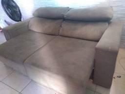 Sofá retrátil e reclinável 400