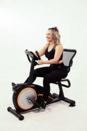 Bicicleta Ergométrica Horizontal - 12x Sem Juros - Pronta Entrega - Loja Física