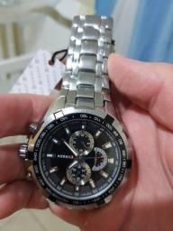 Relógio CURREN Original 100% aço inoxidável!!!