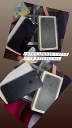 Vendo iPhone 7 Plus preto