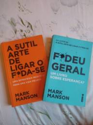 Livro Mark Manson novo