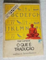 O Que é Tradução - Coleção Primeiros Passos