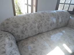 Sofa 3 lugares, usado.