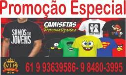 Camisetas em Serigrafia ( SILK )