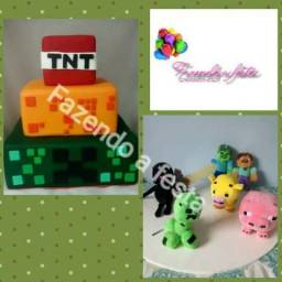 Tema para festa minicraft