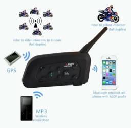 Intercomunicador VNETPHONE V6 comunicador capacete