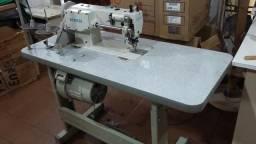 Máquina de Costura Reta industrial Transporte Duplo