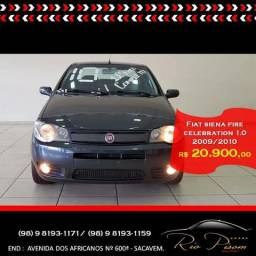 Fiat Siena Celebration 1.0 2010 completa - Aceito seu Carro e Financio - 2010