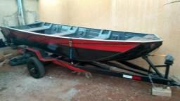 Carretinha para canoa