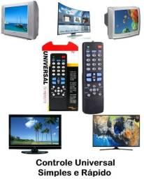 Controle Remoto Universal P/ Tv De Tubo / Lcd / Plasma / Led
