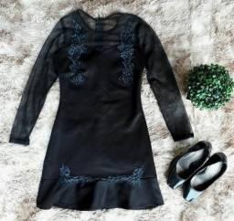 Vestido Preto com Tuli