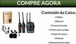 Walkie Talkie Baofeng - Alcance de 3Km -Imperdivel