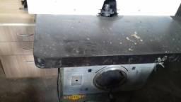 Tupia de Bancada 90x90 Invicta Estrutura em Aço Marcenaria madeira mdf