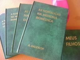 Coleção de Livros Manual de Medicina Moderna e Domestica