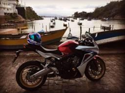 Honda CBR 650F 16/17 c/ ABS - super nova - 2017