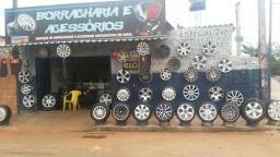 Borracharia e loja de rodas na Go 070