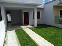 Casa nova com laje em Nova Tramandaí.
