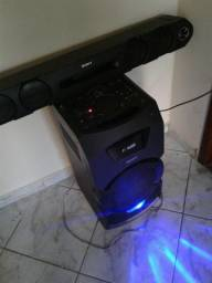 Mini System Sony MHC-GT3 Conexão Bluetooth