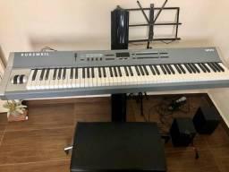 Teclado / Piano Kurzweil SP2X com Case