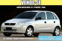 Veiculo Corsa Hatch Maxx 1.0 / 4 portas / 2008 - (Financiado) - 2008