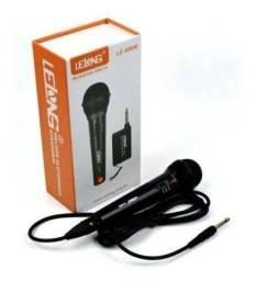 Título do anúncio: Microfone Sem Fio Profissional Lelong Profissional