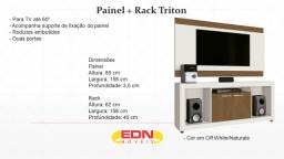 Painel + Rack Triton tv 60