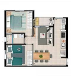Apartamento à venda com 2 dormitórios em Ribeirania, Ribeirao preto cod:V3885
