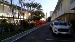 Sobrado com 3 dormitórios à venda, 126 m² - Encruzilhada - Santos/SP