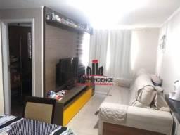 Apartamento com 2 dormitórios à venda, 58 m² por R$ 245.000 - Parque Industrial - São José