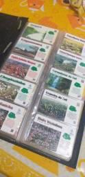 Coleção cartões telefônicos 300 cartões