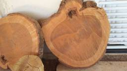 Bolachão em madeira maciça