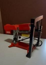 Máquina de transfer giratória para copos canecas taças