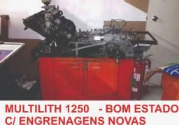Impressora offset multilith 1250