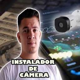 Curso instalador de câmera de segurança
