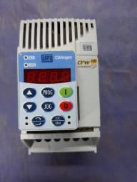 Inversor de Frequência Weg Cfw08 Plus 380V 2,6A 1cv