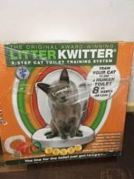 Assento adestrador sanitário para gatos