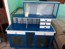 Raro Armário de Cozinha Antigo Decada de 60 Usado.