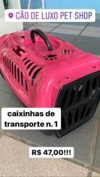 Caixinha de transporte 1 rosa ÚLTIMA UNIDADE
