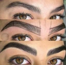 Título do anúncio: Técnica passo a passo para a sobrancelha perfeita