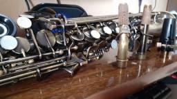Sax soprano Michael envelhecido